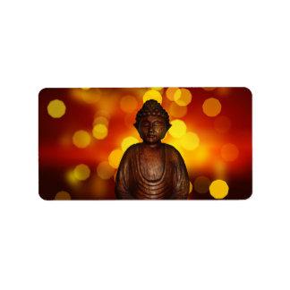 Buddha Address Label