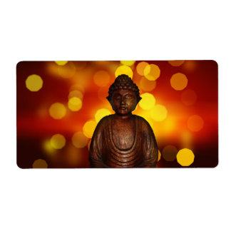 Buddha Custom Shipping Label