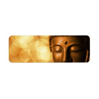 Buddha Label