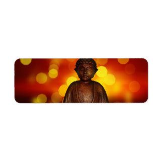 Buddha Custom Return Address Labels