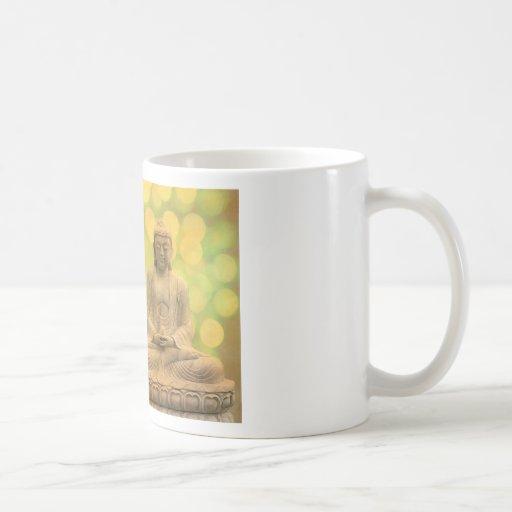 buddha light (yellow) mug