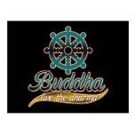 Buddha Live the Dharma Postcards