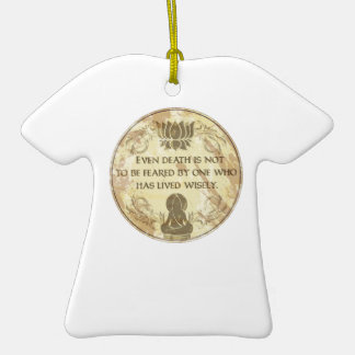 Buddha Live Wisely Ornament