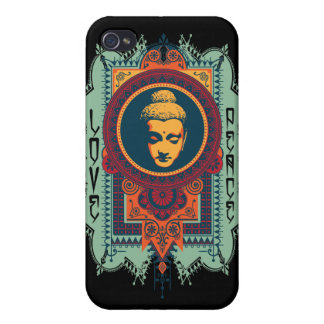 Buddha Love and Peace iPhone 4 Covers