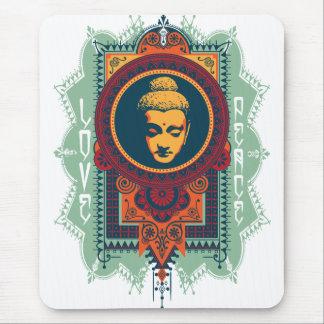 Buddha Love and Peace Mouse Pad