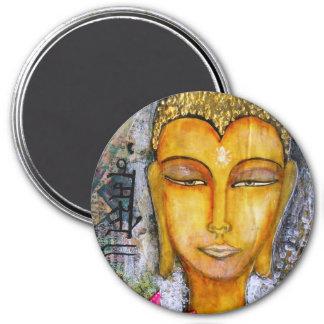 Buddha Magnet with Namaste written in Hindi