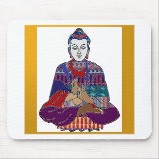BUDDHA Mahatma Buddhism Kind NVN633 LOVE LIGHT Mouse Pads