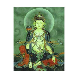 Buddha Manjushri Wrapped Canvas