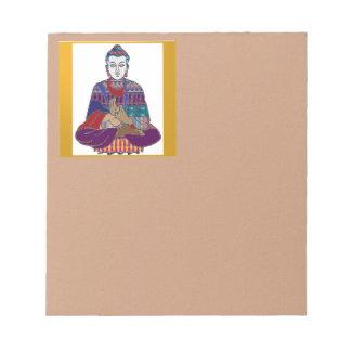 BUDDHA Master Yoga Spirit Lord Teacher Meditation Memo Notepads