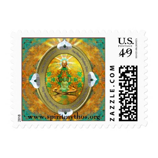 Buddha Medallion Stamp