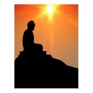 Buddha Meditating Post Cards