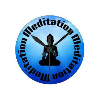 BUDDHA MEDITATION CLOCK
