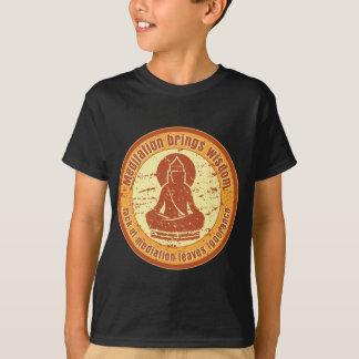 Buddha Meditation Quote T-Shirt