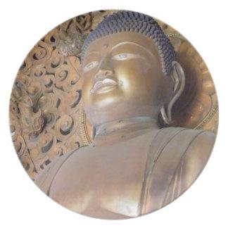 Buddha Melamine Plate