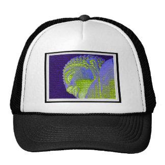 buddha mesh hat