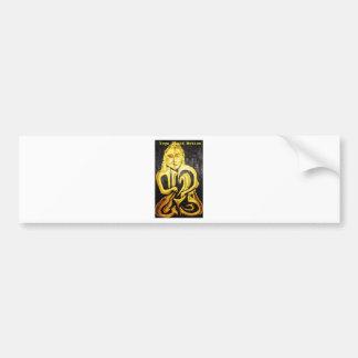 Buddha Mettalica Bumper Stickers