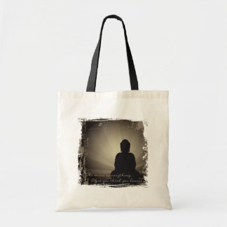 Buddha Mind Is Everything Canvas Bags