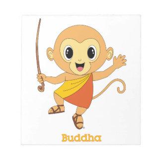 Buddha Monkey™ Notepad