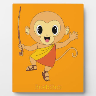 Buddha Monkey™ Photo Plaques