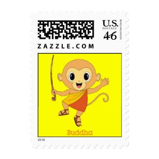 Buddha Monkey™ Stamp