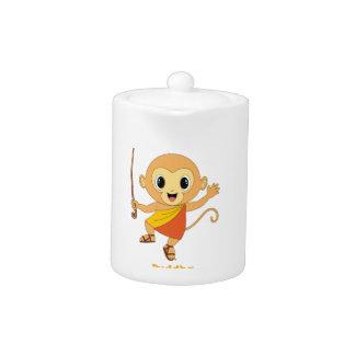 Buddha Monkey™ Tea Pot
