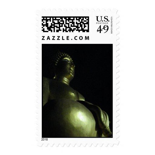Buddha Night ... Thailand Postage Stamp