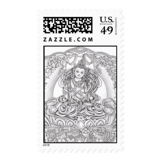 Buddha of Compassion Postage Stamps