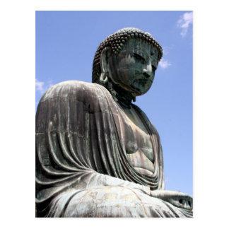 buddha of kamakura postcard