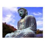 Buddha of Kamikura 2- postcard