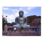 Buddha of Kamikura-postcard Postcard