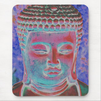 Buddha of the Painted Kaleidoscope Mouse Pad