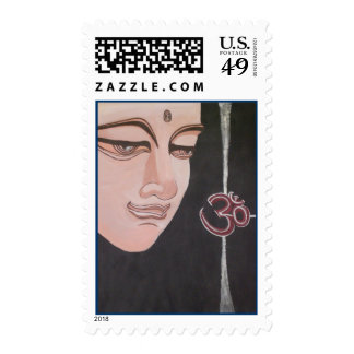 Buddha Ohm Postage Stamps