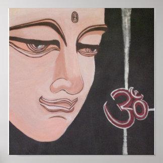 Buddha Ohm Poster