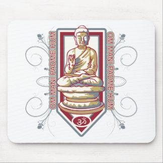 Buddha Om Mani Padma Hum Mouse Pad