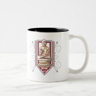 Buddha Om Mani Padma Hum Two-Tone Coffee Mug