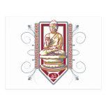 Buddha Om Mani Padma Hum Post Cards