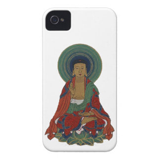 Buddha on Lotus Leaves Colorful Gift iPhone 4 Case-Mate Cases
