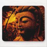 buddha-orange mousepad
