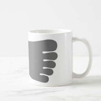 Buddha Pada Mug (Grey)