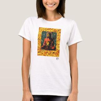 Buddha painting by Zen Artist Peter Cutler T-Shirt