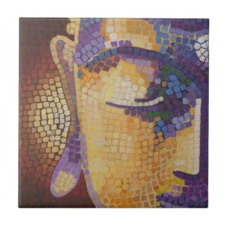 Buddha painting ceramic tile