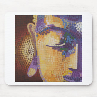 Buddha painting mouse pad