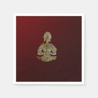 buddha paper napkin