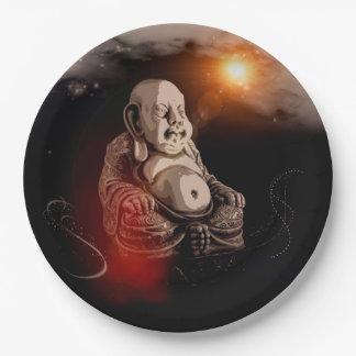Buddha Paper Plate