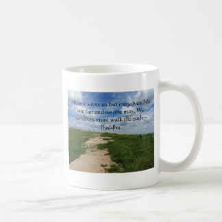 Buddha Path Quote Coffee Mug
