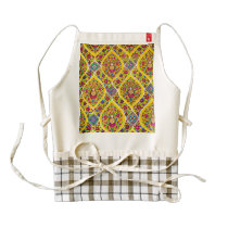 Buddha pattern zazzle HEART apron