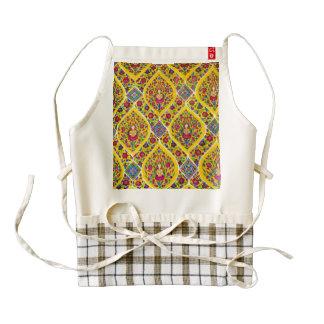 Buddha pattern zazzle HEART apron