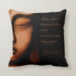Buddha-peace Throw Pillows