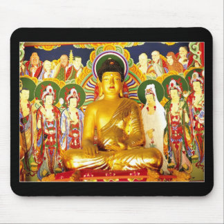 Buddha Peace Tranquility Serenity Mouse Pad