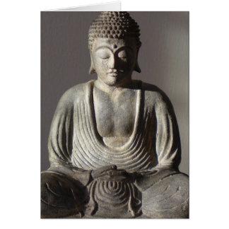 Buddha Picture. Buddha Statue. Card